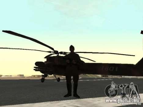 Mi-28 for GTA San Andreas right view