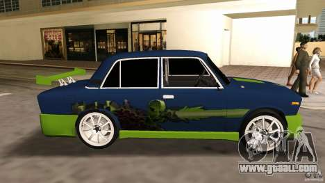 VAZ 2106 Tuning v2.0 for GTA Vice City back left view