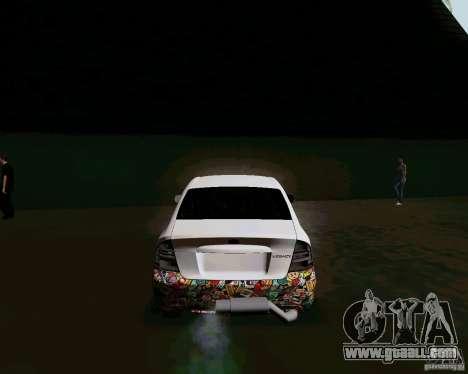 Subaru Legacy JDM for GTA San Andreas back left view
