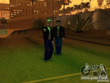 Skins Gopnik for GTA San Andreas second screenshot