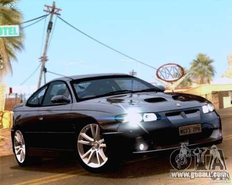 Vauxhall Monaro VXR for GTA San Andreas right view