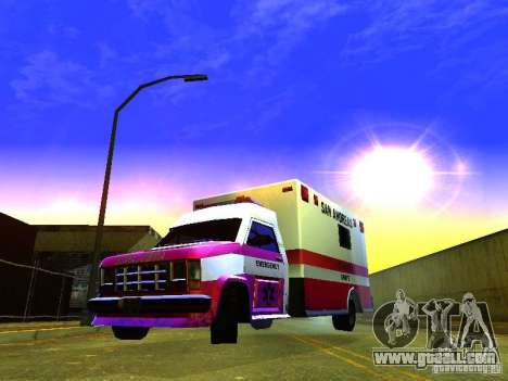 Ambulance 1987 San Andreas for GTA San Andreas