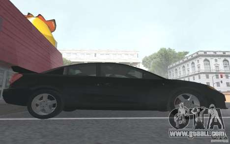 Saturn Ion Quad Coupe for GTA San Andreas interior