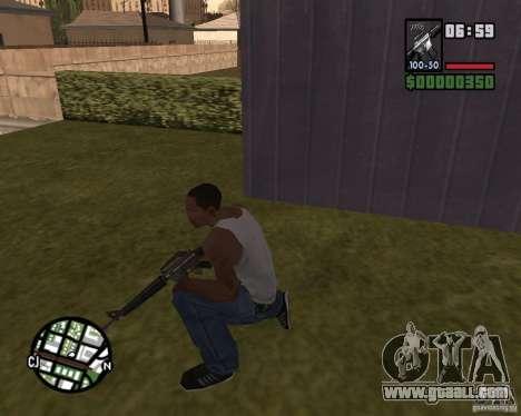 M16 for GTA San Andreas second screenshot