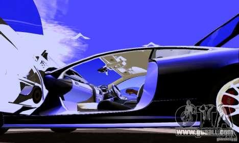 Jaguar XKRS for GTA San Andreas side view