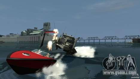 Biff boat for GTA 4 inner view