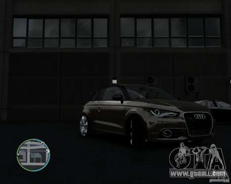 Audi A1 v.2.0 for GTA 4 left view