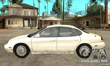 Ford Taurus 1996 for GTA San Andreas left view