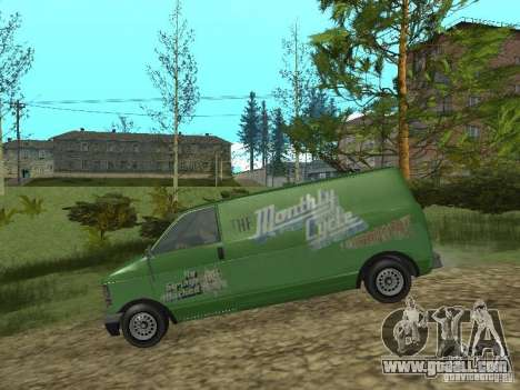 Burrito from GTA 4 for GTA San Andreas back left view