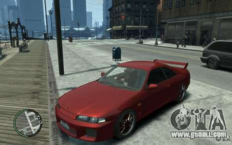 Nissan Skyline GT-R V-Spec 1998 for GTA 4