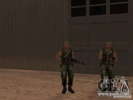 Russian Commando for GTA San Andreas sixth screenshot