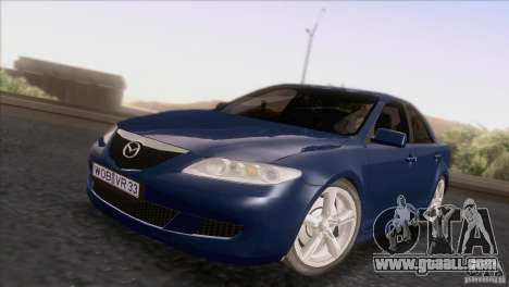 Mazda 6 2006 for GTA San Andreas