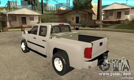 GMC 3500 HD Sierra Duramax Diesel 2010 for GTA San Andreas