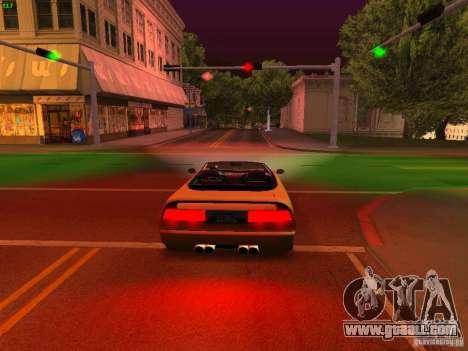 Infernus Revolution for GTA San Andreas side view