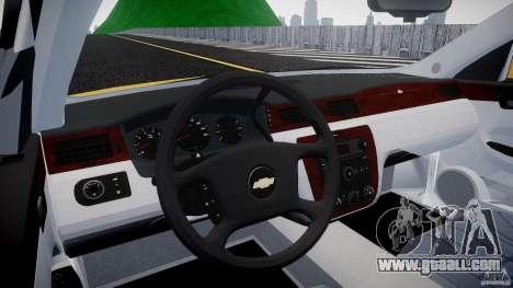 Chevrolet Impala 9C1 2012 for GTA 4 right view