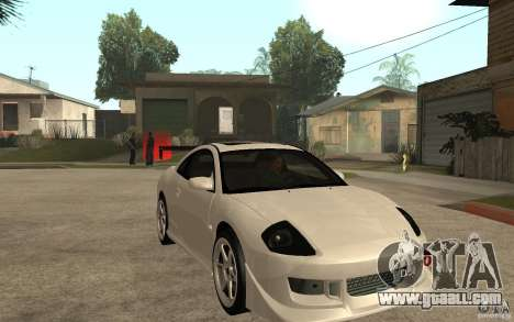 Mitsubishi Eclipse 2003 V1.5 for GTA San Andreas back view