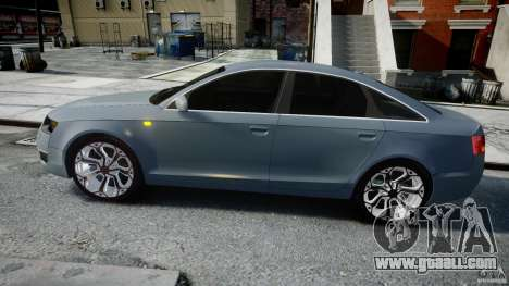 Audi A6 TDI 3.0 for GTA 4 left view