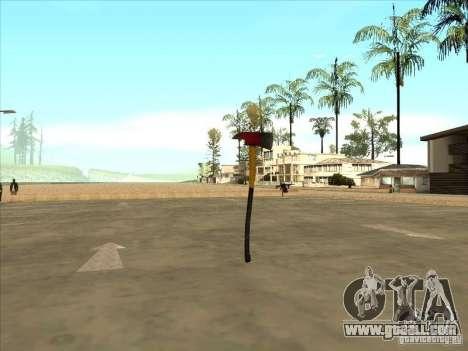 An axe from the Killing Floor for GTA San Andreas