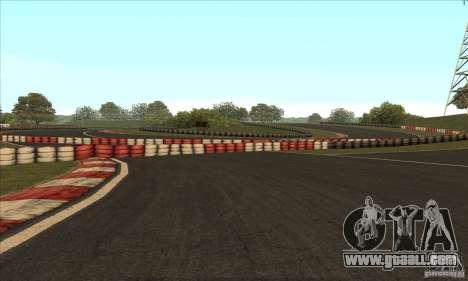 GOKART track Route 2 for GTA San Andreas ninth screenshot