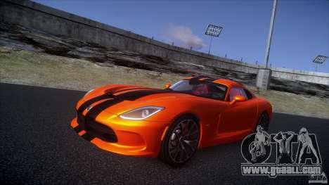 Dodge Viper GTS 2013 v1.0 for GTA 4