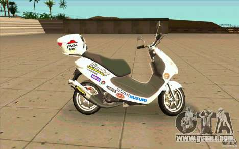 Suzuki Addres for GTA San Andreas left view