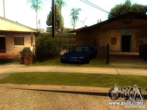 New Car in Grove Street for GTA San Andreas third screenshot