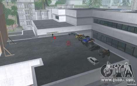 Cars shop in San-Fierro beta for GTA San Andreas forth screenshot