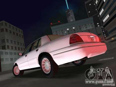 Ford Crown Victoria for GTA Vice City left view
