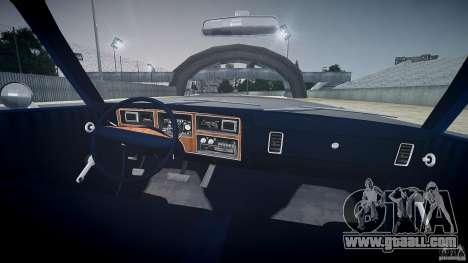 Dodge Aspen v1.1 1979 for GTA 4 upper view