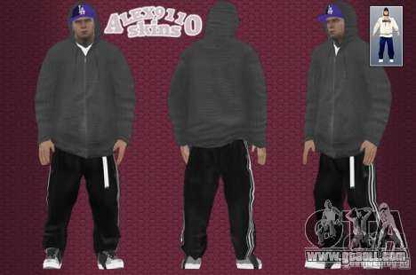 Winter PED in the hood for GTA San Andreas