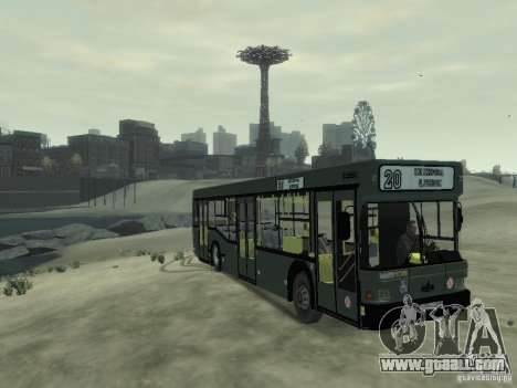 MAZ 103 Bus for GTA 4 left view