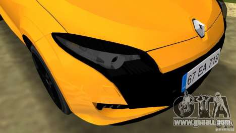 Renault Megane 3 Sport for GTA Vice City side view