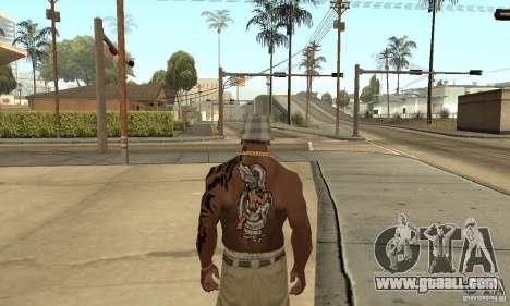 Tatu CJ for GTA San Andreas third screenshot