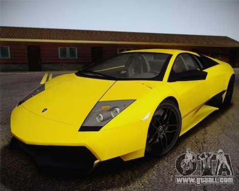 Lamborghini Murcielago LP 670/4 SV Fixed Version for GTA San Andreas