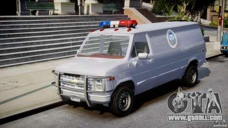 Chevrolet G20 Police Van [ELS] for GTA 4