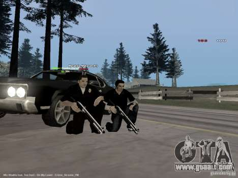 Black & White guns for GTA San Andreas third screenshot
