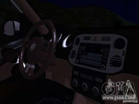 Volkswagen Tiguan 2.0 TDI 2012 for GTA San Andreas engine