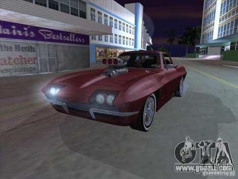 Chevrolet Corvette Big Muscle for GTA San Andreas