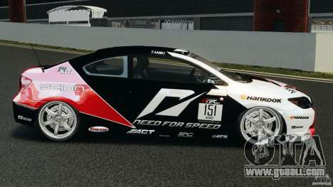 Scion TC Fredric Aasbo Team NFS for GTA 4 left view