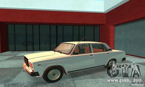 Vaz 2107 v. 3 for GTA San Andreas left view