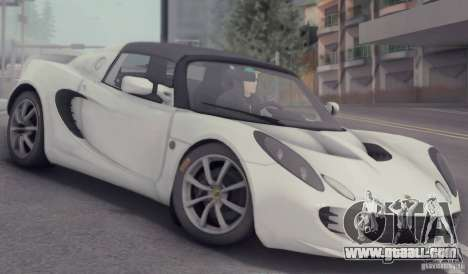Lotus Elise 111s 2005 v1.0 for GTA San Andreas upper view