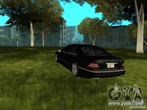 Mercedes Benz AMG S65 for GTA San Andreas left view