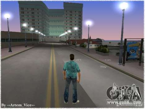 New Ocean Beach for GTA Vice City