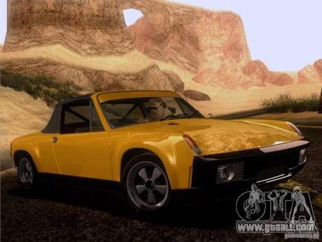 Porsche 914-6 for GTA San Andreas