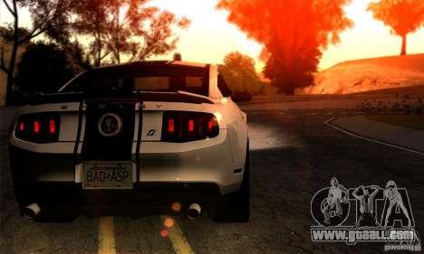 SA gline v4.0 Screen Edition for GTA San Andreas third screenshot
