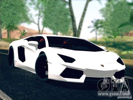 Lamborghini Aventador LP700-4 2011 V1.0 for GTA San Andreas