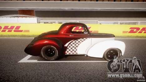 Willys Americar 1941 for GTA 4 left view