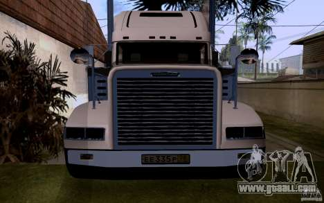 Freightliner SD 120 for GTA San Andreas right view
