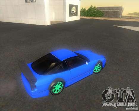 Nissan 240SX for drift for GTA San Andreas inner view