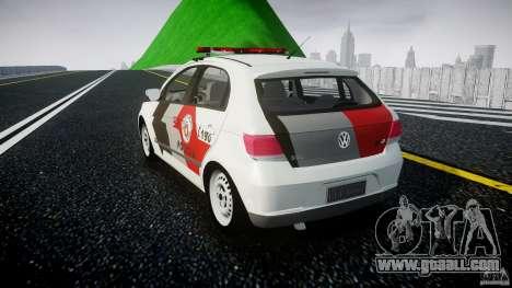 Volkswagen Gol G5 PMSP [ELS] for GTA 4 back left view